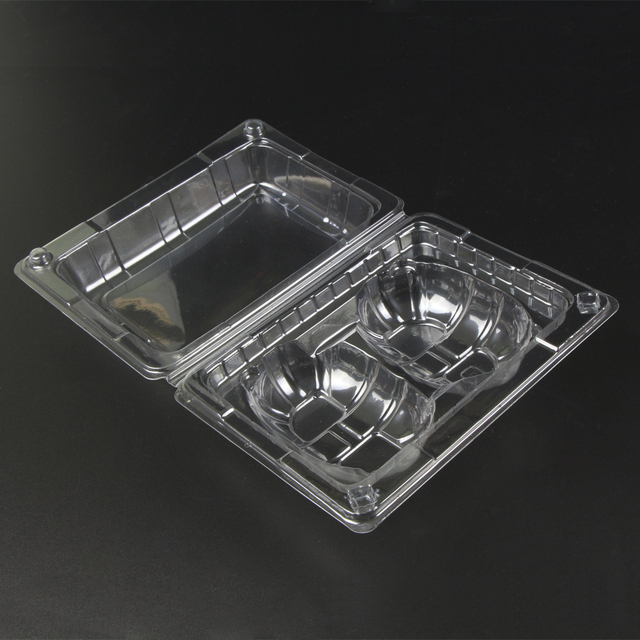 biodegradable disposable PET clamshell plastic lemon box