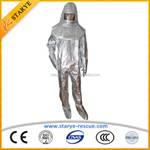 Widely Used CE Certificate Approved Heat Protective Coverall