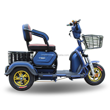 china factory 500w folding trike 3 wheel mobility mtorcycle adult tricycle for disabled