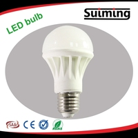2015 New design Ceramic 3W 5W E27 LED Bulb