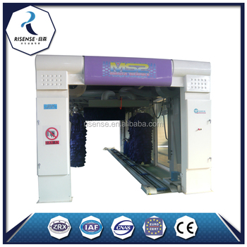 Support After-Sales Service Automotive Tunnel Car Wash