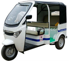 electric tricycle gasoline tricycle for passenger and cargo electric rickshaw with electric car design