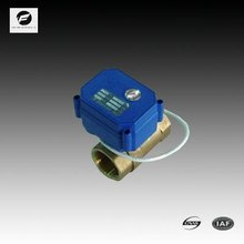CWX-15N/Q mini 2 way motorized ball valve for irrigation