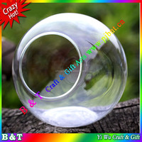 Moss micro landscape small bevel bottles of 13.5 cm DIY home decoration BNTM 038