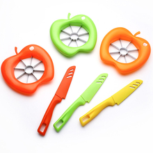 Fruit Tools Apple Slicer Cutter and Knife 2 Pcs Set