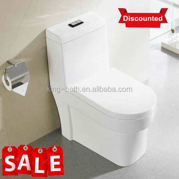 Siphon One Piece Bathroom Toilet design,modern S-Trap Siphonic WC ceramic toilet