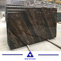 Quicksand Brown marble slabs with two veins marble tile for floor and wall