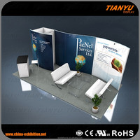 China modular exhibition booth 10x10