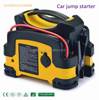 Portable Vehicle car jump starter rechargeable booster 12V/24V battery power generator