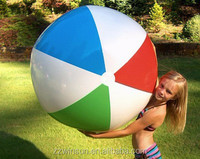 4 colours custom made wholesale inflatable beach ball chinese balls sex toy