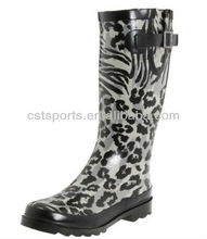 2013 Hot Sale Leopard Print Rain Boots Shoes for Women LRB4407