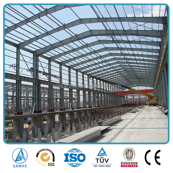 portal tube truss frame steel structure