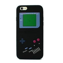 3D Phone Cover For iPhone 7 Silicone Case For Iphone 6 6S 7 PLUS 6PLUS 5 5S SE 4S Soft Back Protective Shell Retro Game Consoles
