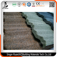 Beautiful and Classic Stone Coated Concrete Roof Tiles, Decorative Roofing Material Made in China