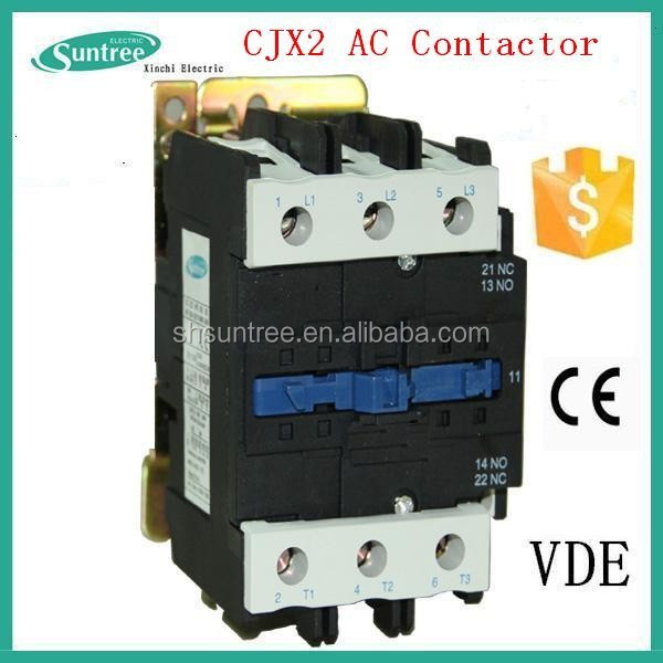 3 Phase CJX2 AC Magnetic Contactor 380V