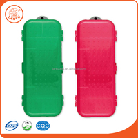 Lantu 100% Red and Green Plastic Durable Pen Stationery Box For Children