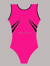 Wholesale Shiny Women Girls Spandex gymnastics leotard /gymnastics balance beam