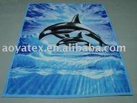 dolphin mink blanket