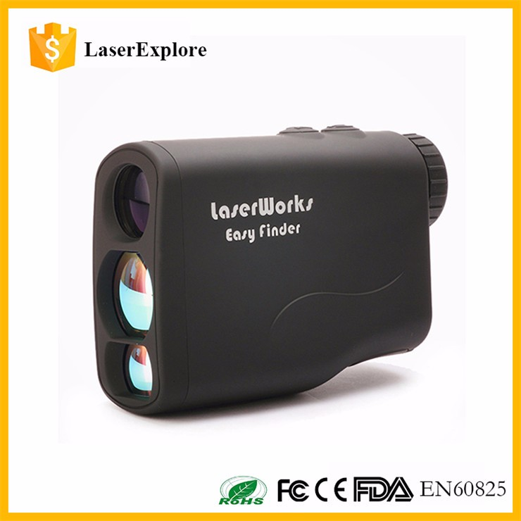 Hotsale Wholesale 600m golf range finder 4 colors with LCD Screen golf Laser rangefinder, pinseeker