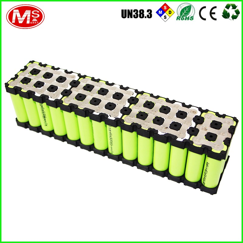 Chinese cheap smart ebike 18650 lithium battery pack with silver al alloy case