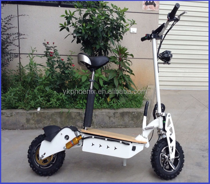 2016 Sino-phoenix electric scooter 2000W 60v with front /rear led lights pass CE certificate ( PES02-2000W 60V )