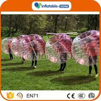 Hot Selling bumper bubble ball bubble soccer pu ball