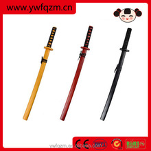 Cosplay tools Japanese craft wooden katana sword