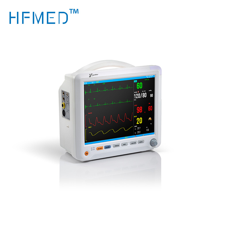 Fetal Maternal Monitor,Multiparameter Patient Monitor,ECG Temperature Spo2 And BP Patient Monitor