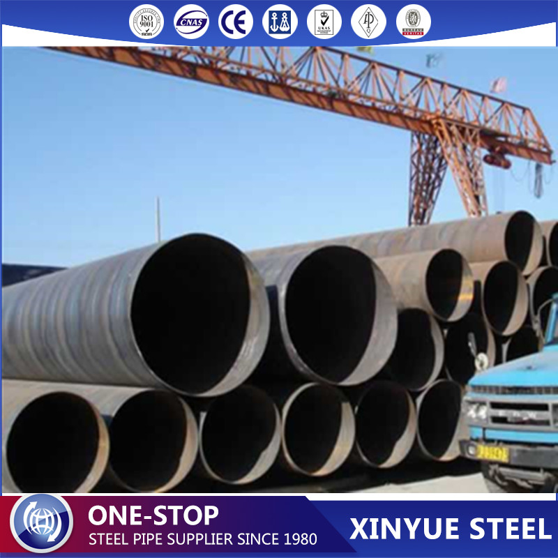 Line Pipe API X52 SSAW Steel Pipe, GI Welded Steel Pipes, Carbon Steel Pipes