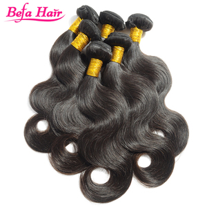 Befa Hair Untreated Can Be Permed Shape Well Brazilian Hair Short Body Wave