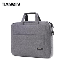 TINYAT New Style Waterproof Polyester Briefcase Sleeve Case Business Computer Laptop Bag