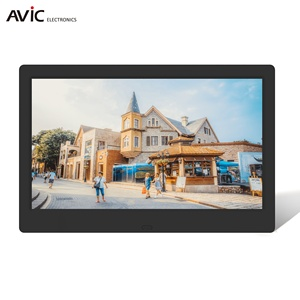 "Remote Control 7"" 8"" 10"" 12"" Inch Digital Photo Frames With Picture Video Playback Function"