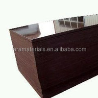 cheaper sheets,melamine particle board waterproof,film coated plywood black / brown color