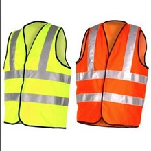 waterproof hi vis led reflective safety vest for road safety reflecting vest with led light