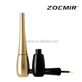 Shantou cosmetic factory new style shiny grey long lasting eyeliner bottle