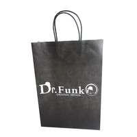 Recycling material custom branded logo thin paper bags packaging