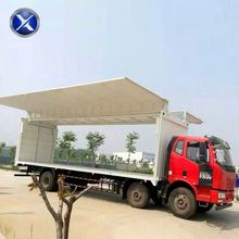 Beautiful appearance top quality frp dry cargo van truck body box van truck