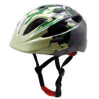 2015 custom camouflage kids protective bike helmet for boy