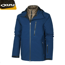 2018 New Style OEM Waterproof Zipper Outdoor Men's 3-IN-1 Jacket