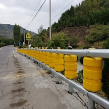 highway guardrail EVA safety roller barrier