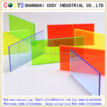 Anti-UV Bright Transparent Color 1-20mm Acrylic Sheet Price