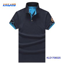 Fancy Latest Design Two Color Combine Mens Polo T Shirt, 100% Cotton Polo T Shirts