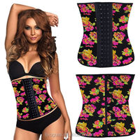 Plus Size Waist Training Corsets and bustiers latex Waist Trainer girdles waist cincher Shapewear slimming shaper corselet kors