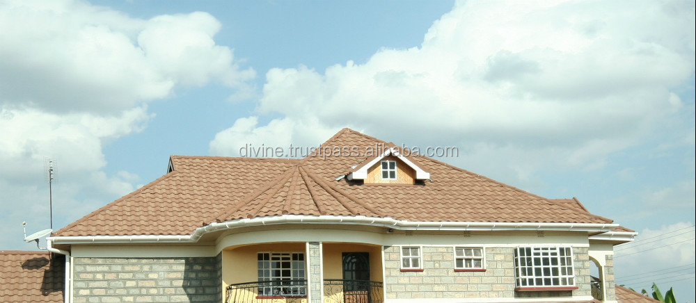 Stone coated steel roof tile DIVINE orbis