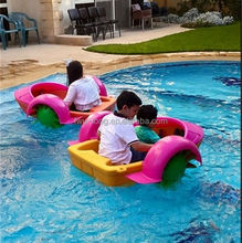 Hot sale kids animal inflatable electric used paddle boats for sale to agent