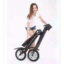 black color lithium battery electric scooter 25 km