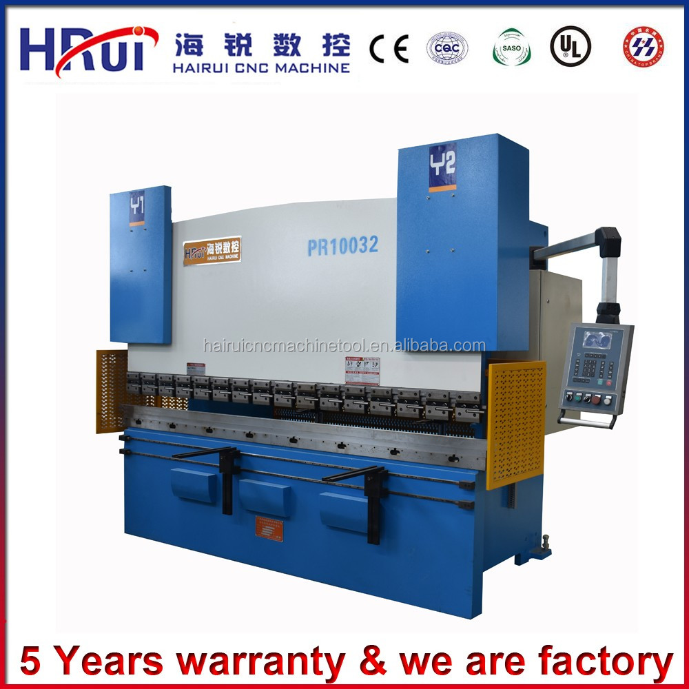 High accuracy Bosch Hydraulic CNC Servo motor bending machine MB8-80/25 with good After-sale service
