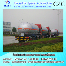 30-35cbm LPG gas tank truck, LPG gas filling truck for sale