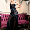 New style plus size hot women sexy evening dress for fat women,black long evening dress