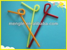 plastic disposable artistic straws